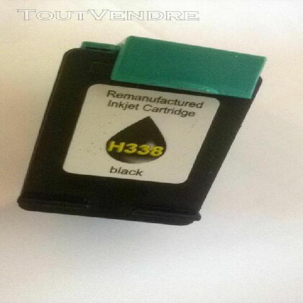 Cartouche encre imprimante compatible hp h338 noir black----