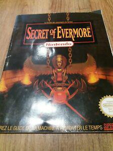 Guide jeu nintendo: secret of evermore
