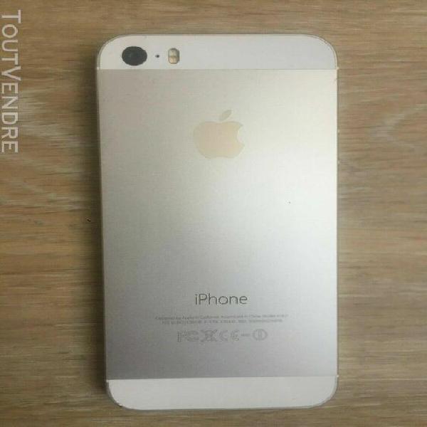 Iphone 5s débloqué blanc argent 16go occasion