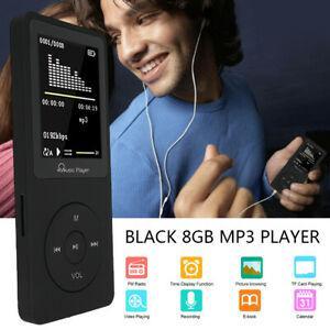 Lecteur mp3 player 8 go portable musique sans perte audio