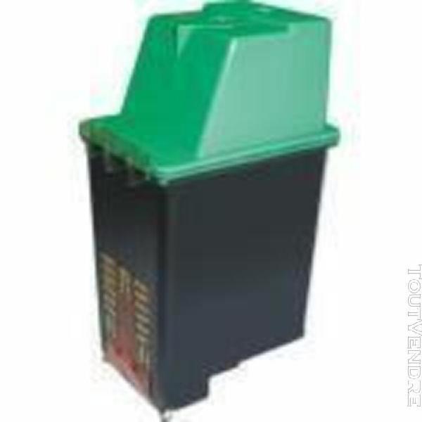 1 cartouche encre noir remanufacturé hewlett packard / hp