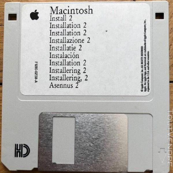 Apple macintosh installation 2