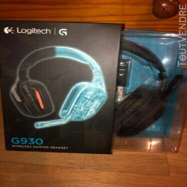 Auriculares logitech wireless gaming headset g930 headset s