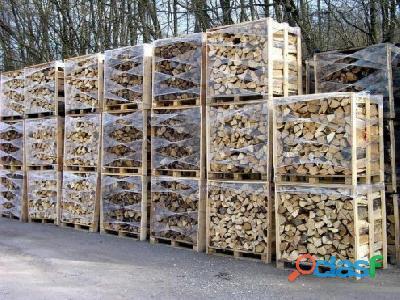 Grande promo de bois de chauffage +livraison gratuite