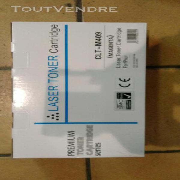 Laser cartridge services toner magenta clt-m409