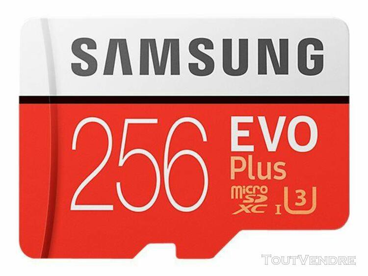Samsung samsung evo plus mb-mc256g - carte mémoire flash