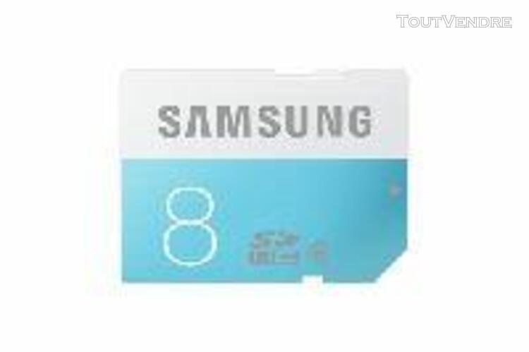 Samsung samsung standard mb-ss08d - carte mémoire flash - 8