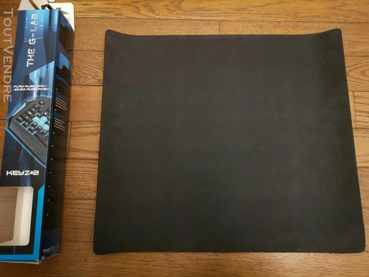 Tapis de souris g-lab xl 450x400x4 mm comme neuf