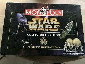 Rare: star wars monopoly limited collectors edition 20th