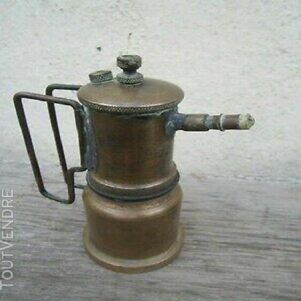 Ancienne lampe de mineur ? mine acétylène minor lamp acety