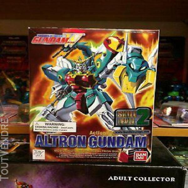 Gundam wing mobile suit - 3 figs - altron - deathscythe - ep