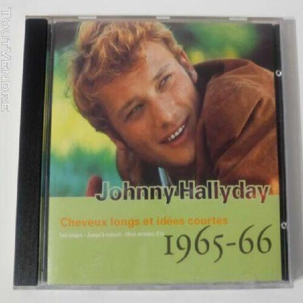 Johnny hallyday cd guitare n °7 cheveux longs et idées