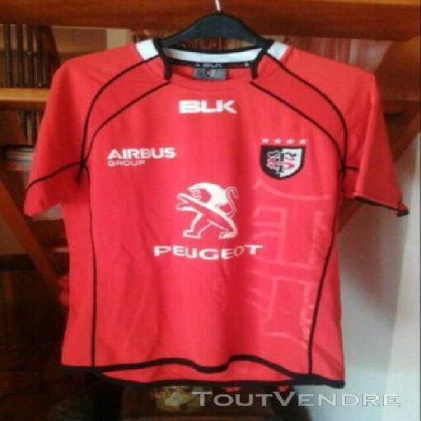 Maillot rugby stade toulousain toulouse taille l large blk n