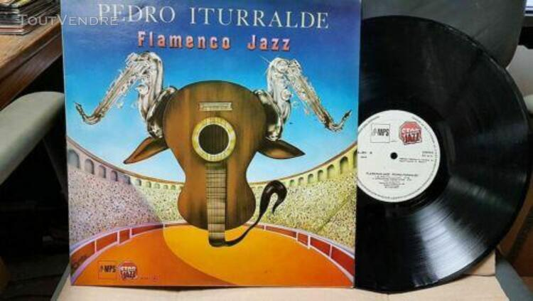 Pedro iturralde ‎– flamenco jazz 33t lp nm/nm mps