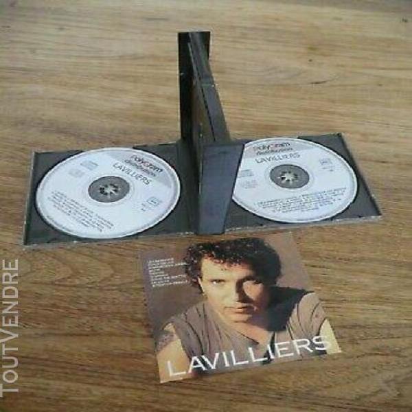 Rare coffret double cd lavilliers collection 29 titres best