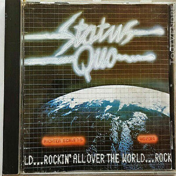 "Status quo "" rockin'all over the world"" (cd)"