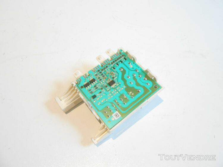 carte module platine de puissance 20833680 lave linge