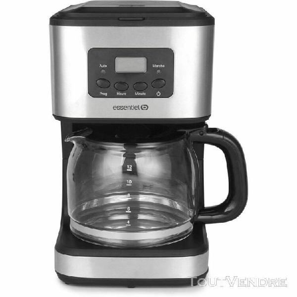 essentielb cafetière programmable essentielb ecp5n aromea