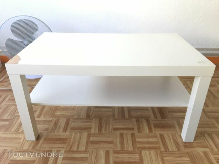 Table Basse Blanche Ikea Offres Septembre Clasf