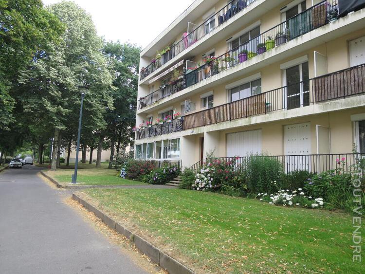Location rennes sud secteur henri freville appartement t3 6