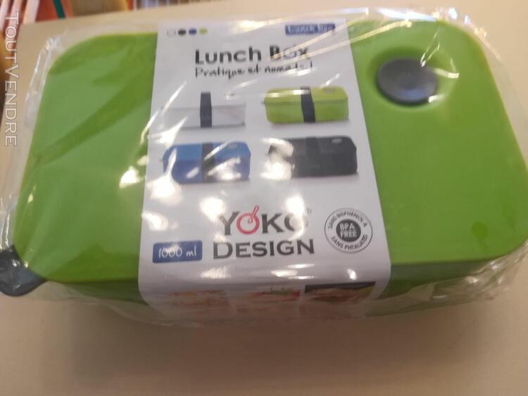 lunch box yoko design verte