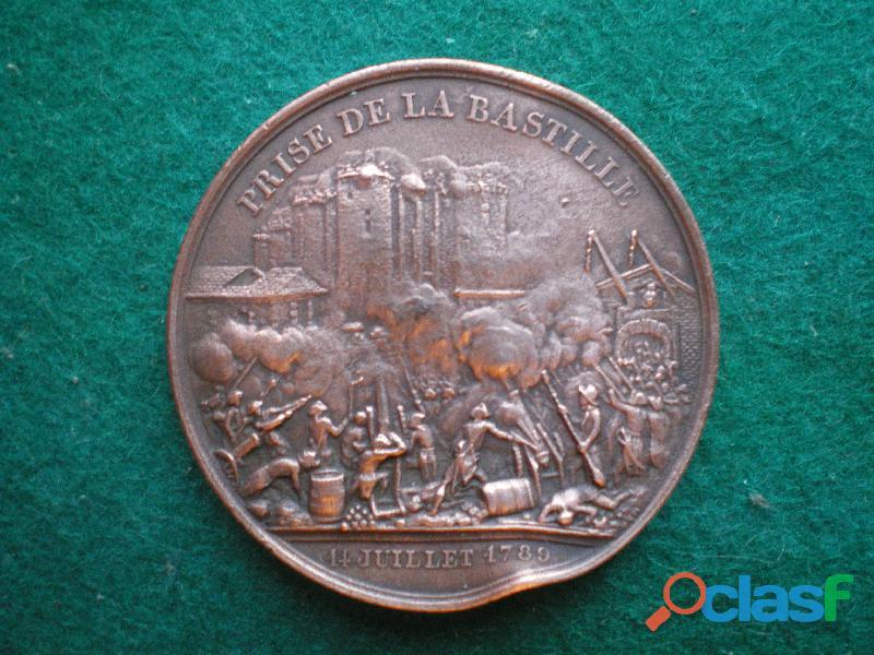 Médaille de la Prise de la Bastille et du Château de Vincenne.