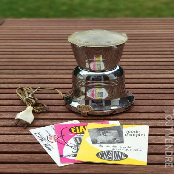moulin à café électrique robot elaul vintage années