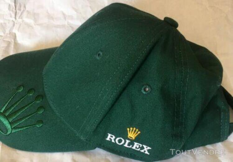 Rolex green cap very rare on the visor there is the small cr