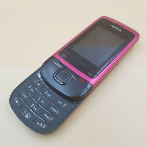 Téléphone portable mobile nokia c2-05 type rm-724 rouge et
