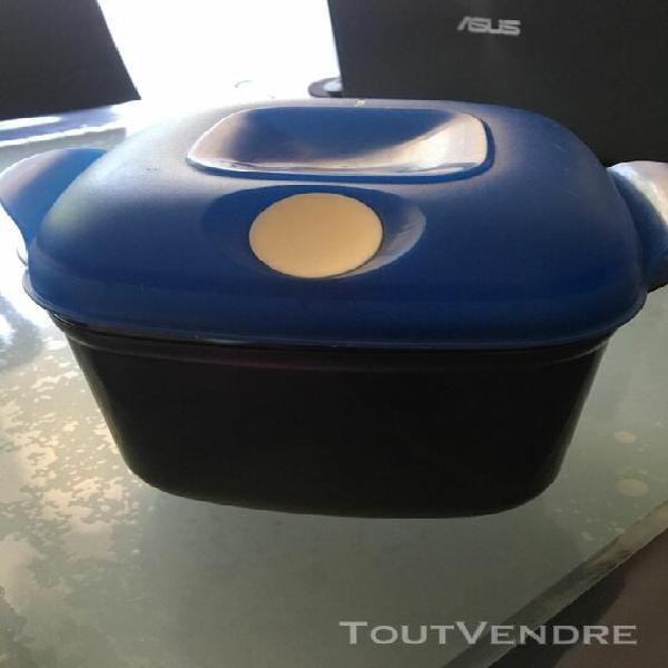 tupperware crystalpop carrée contenance 1.9 l neuf