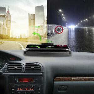Universal car gps navigation throughprojection hud head up