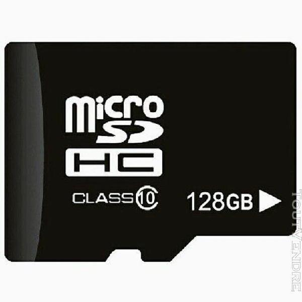 carte mémoire micro sd 128go class 10