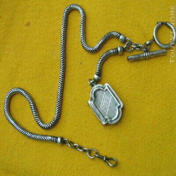 Chaine argent pour montre gousset / old silver sterling chai