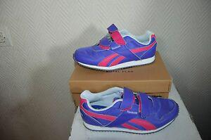 chaussure basket reebok taille 34 shoes/zapatos/scarpe cuir
