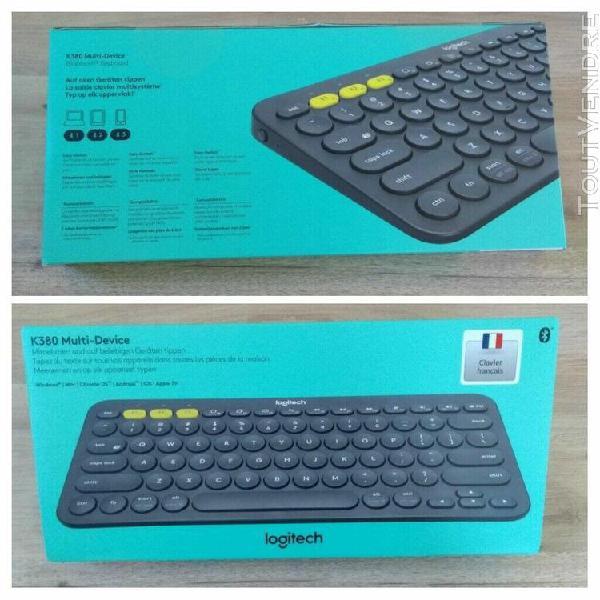 clavier bluetooth logitech k380 multi-divise. en parfait