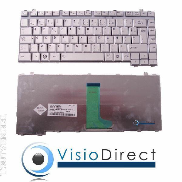 clavier français azerty argent type mp-06866f0-9204 pour