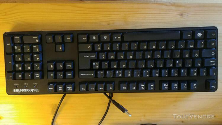 clavier mécanique steelseries 6gv2 cherry mx black ps2 ps3