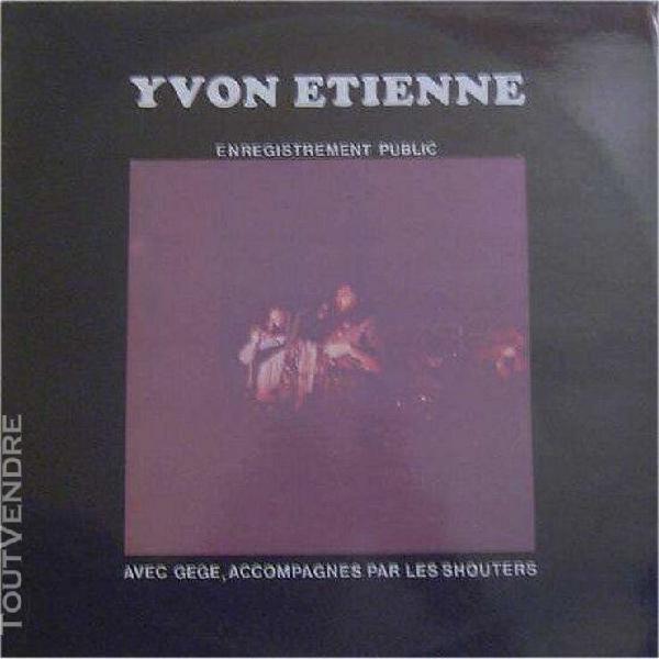 Enregistrement public [vinyle lp double album 12 – 1977]: l