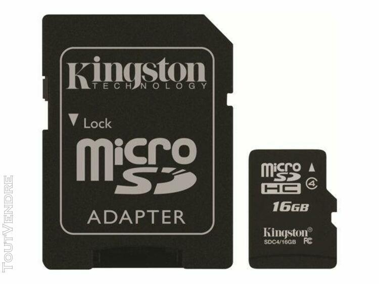 kingston technology kingston - carte mémoire flash