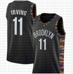 kyrie irving brooklyn nets jersey #11 city - taille s/m/l/xl