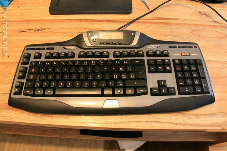 logitech g15 [y-uw92] gaming keyboard w/macros backlight & m