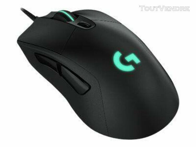logitech logitech gaming mouse g403 prodigy - souris - optiq
