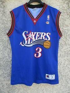 maillot basket iverson n°3 sixers philadelphia 76ers shirt