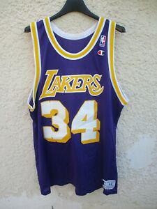 maillot basket nba shaquille o'neal 34 los angeles