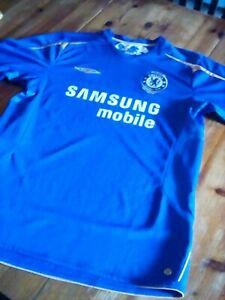 maillot collector centenaire chelsea 1905-2005 taille l