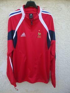 maillot sweat training equipe de france 2006 adidas fff