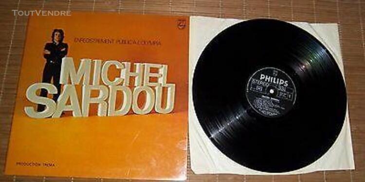 Michel sardou enregistrement public a l'olympia 33 tours