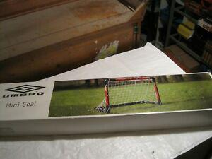 mini but de football mini goal mini cage umbro neuf
