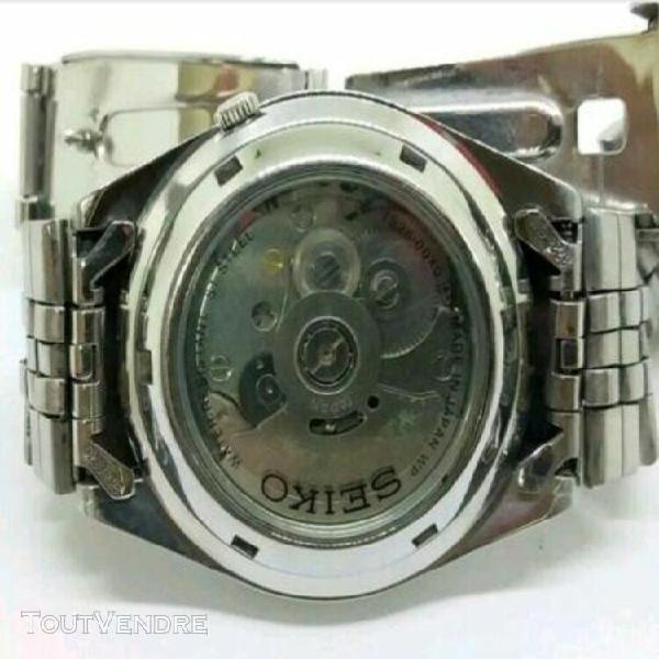 Seiko 5 montre vintage automatique classic jour date watch a