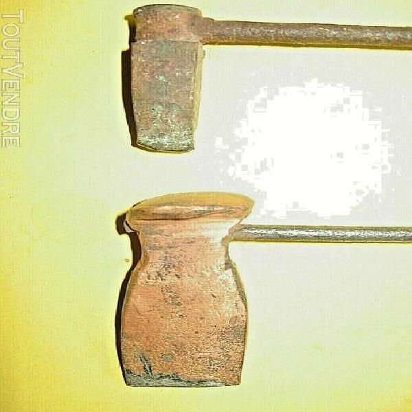 2 fers à souder avec panne taille mini